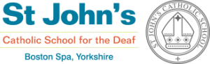 St John's Catholic School for the Deaf logo