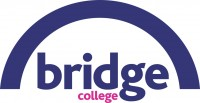 The logo of Bridge College