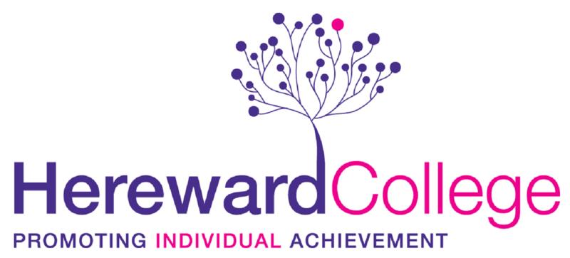 The logo of Hereward College