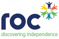 The logo of ROC College