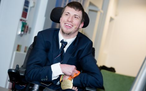 Paralympian joins conference