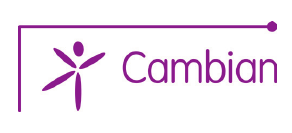 The logo of Cambian Wing College.