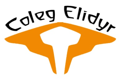 The logo of Coleg Elidyr