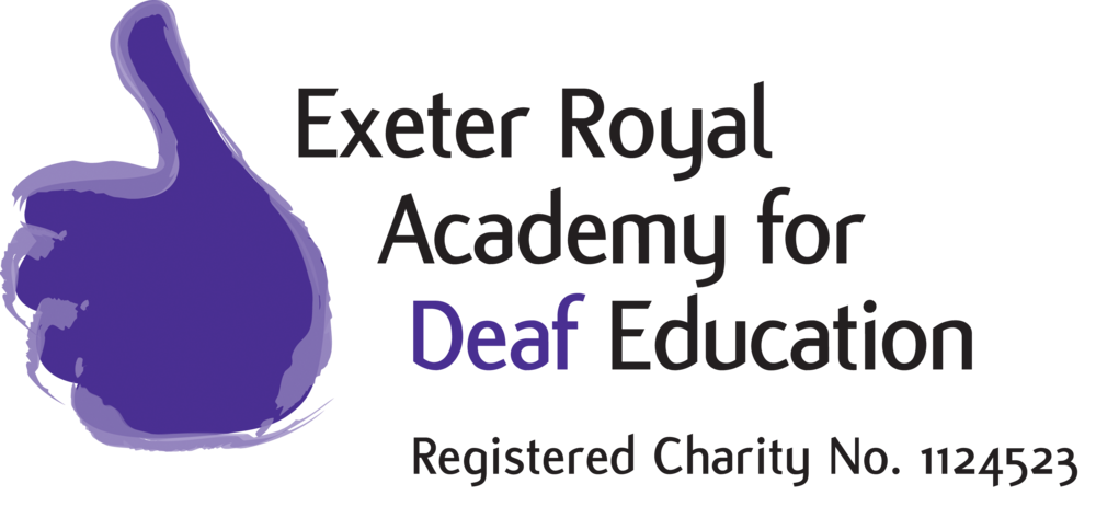 The logo of Exeter Royal Academy for Deaf Education
