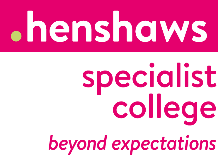 The logo of Henshaws Specialist College
