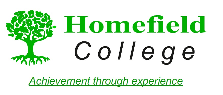 The logo of Homefield College