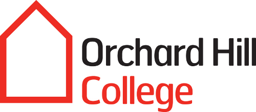 The logo of Orchard Hill College