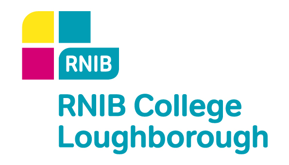 The logo of RNIB College Loughborough