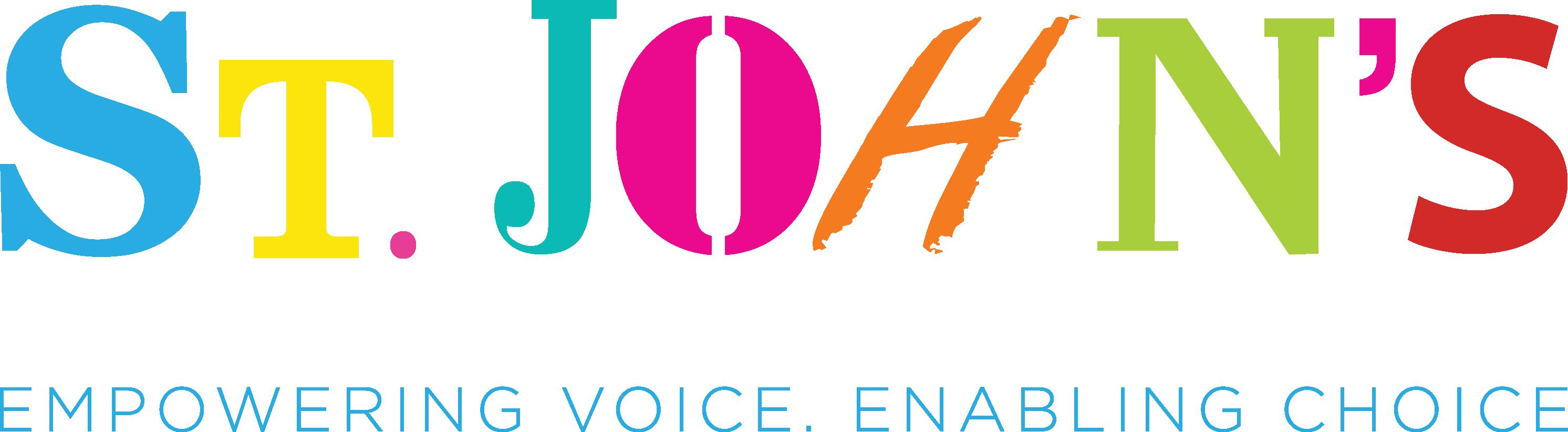 The logo of St John's School & College