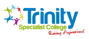 The logo of Trinity Specialist College