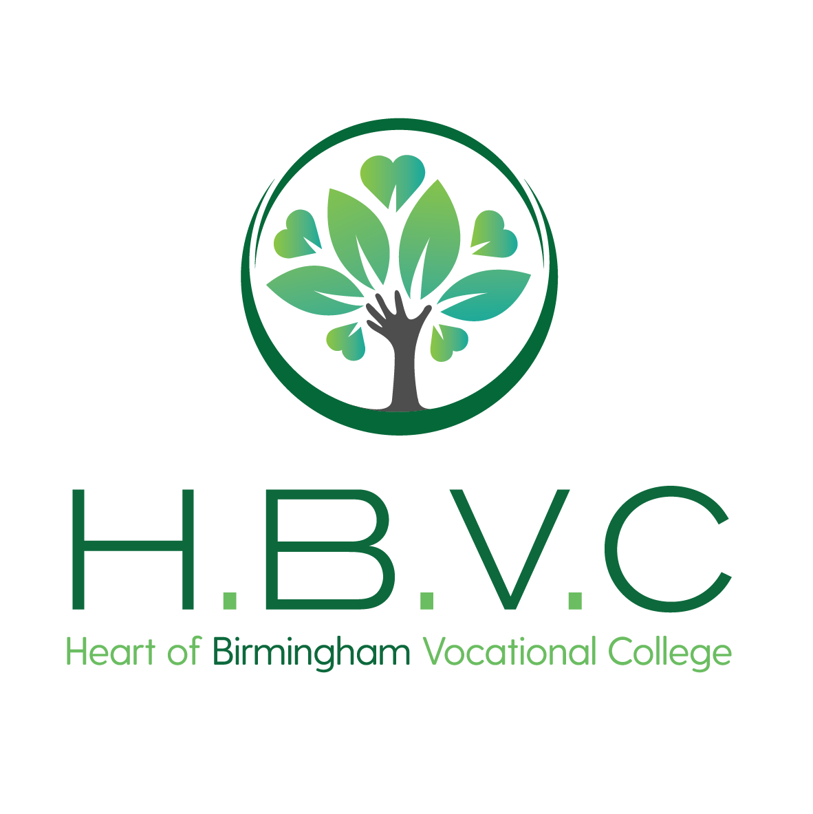 The logo of Heart of Birmingham Vocational College