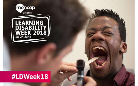 Mencap promo image for learning disability week