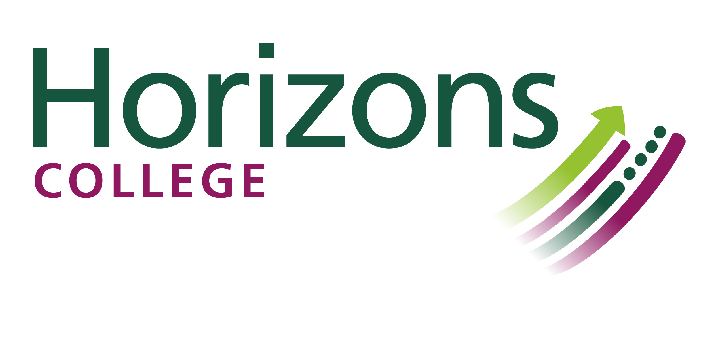 The logo of Horizons College