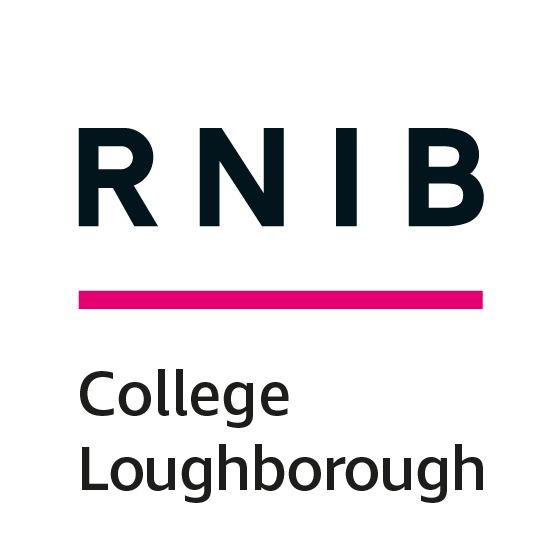 The logo of RNIB College Loughborough