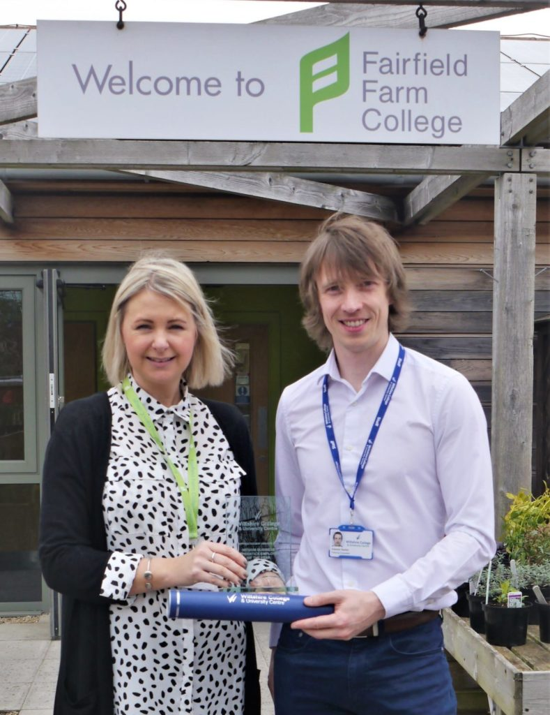 Fairfield Farm College accepts Apprenticeship Award