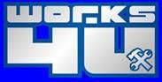 The logo of Works 4 U