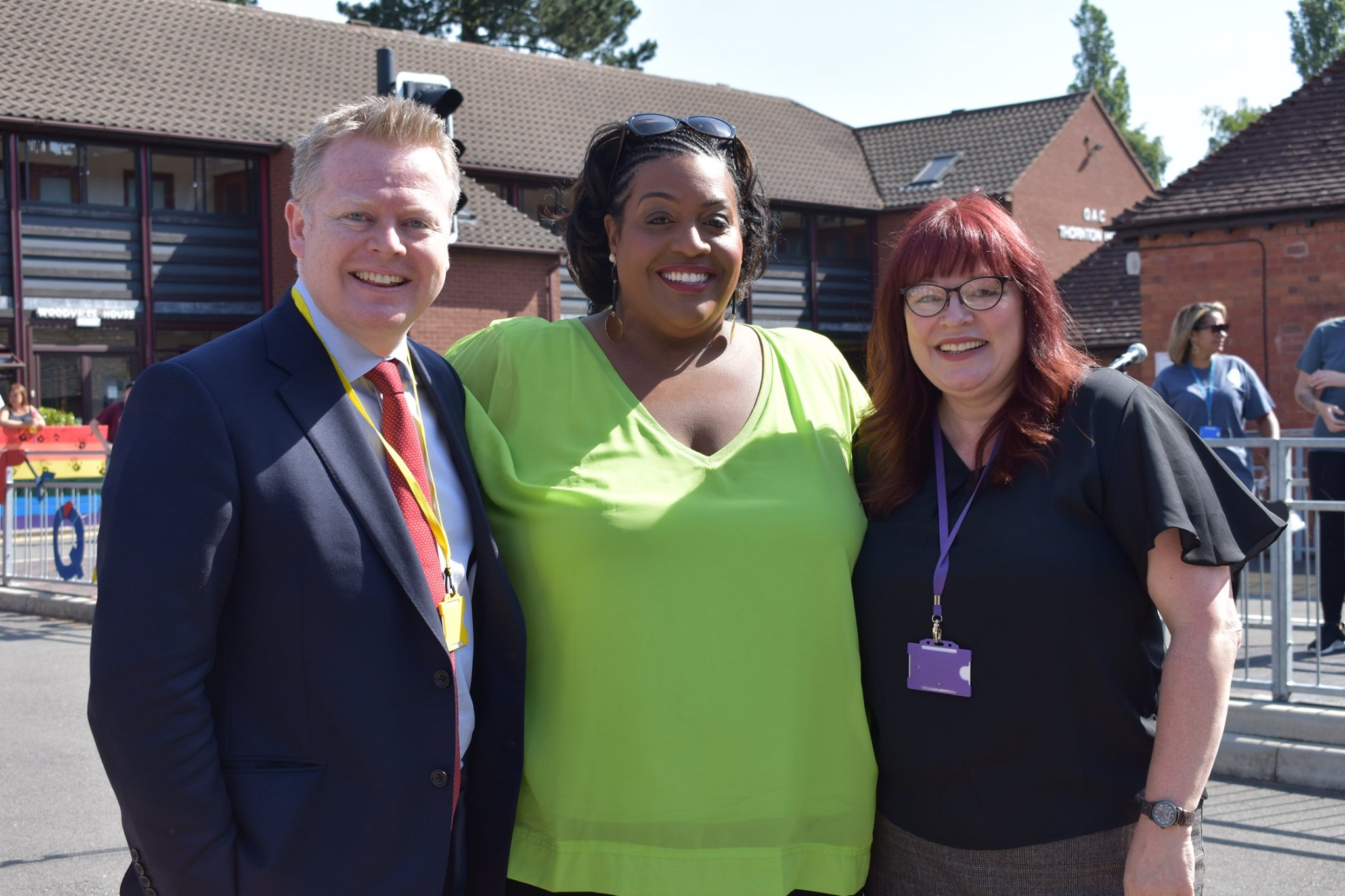 Paul Faulkner, Alison Hammond and Bev Jessop