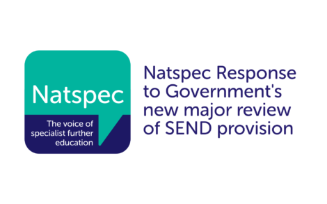 Natspec Response to Government's new major review of SEND provision