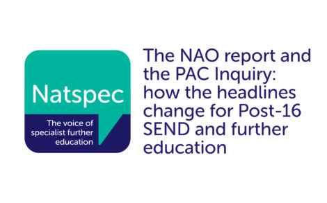 The NAO report and the PAC Inquiry: how the headlines change for FE