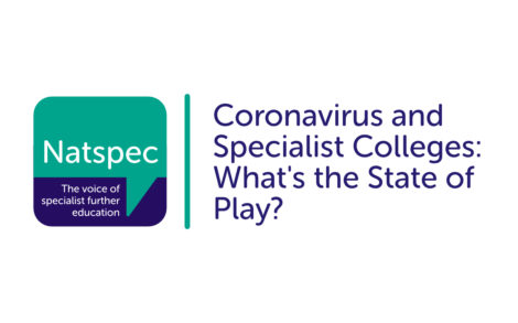 Coronavirus and Specialist Colleges: What's the State of Play?